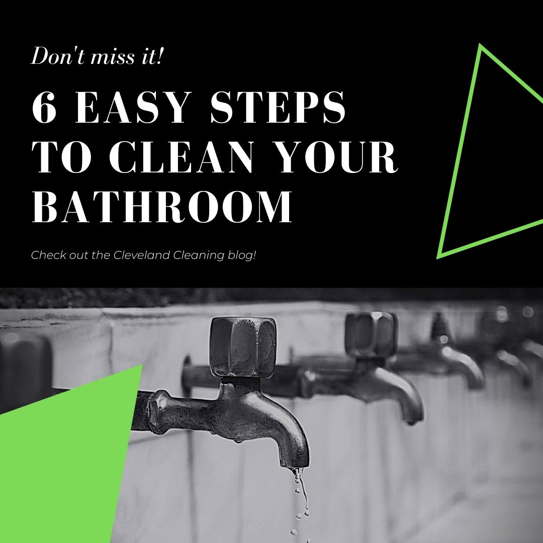 How To Sparkle Clean Your Bathroom In 6 Simple Steps
